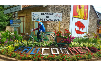 Bienvenue au Tour de France 2017 Laurent Seguin